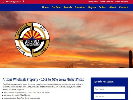 Arizona Wholesale Property