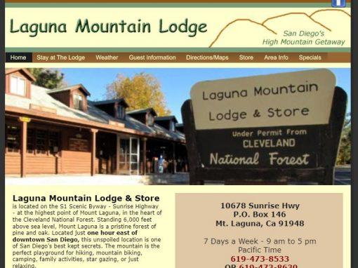 Laguna Mountain Lodge