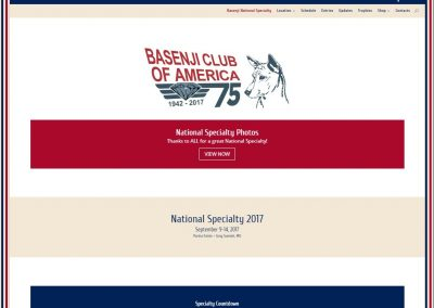 Basenji National Specialty