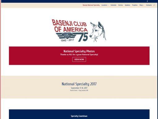 Basenji National Specialty