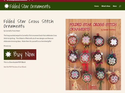 Folded Star Ornaments
