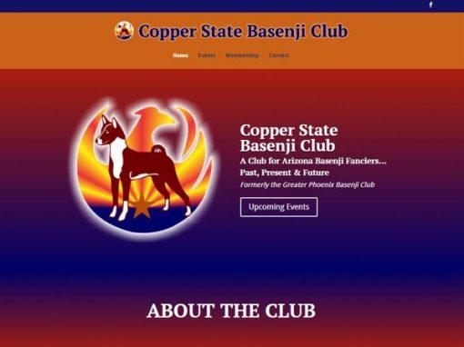 Copper State Basenji Club