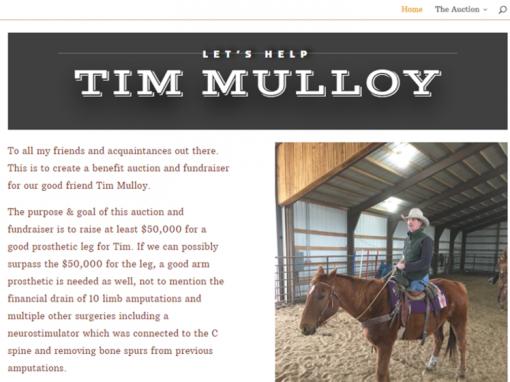 Tim Mulloy Fundraiser