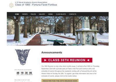 US Naval Academy Alumni Association: Class of 1985
